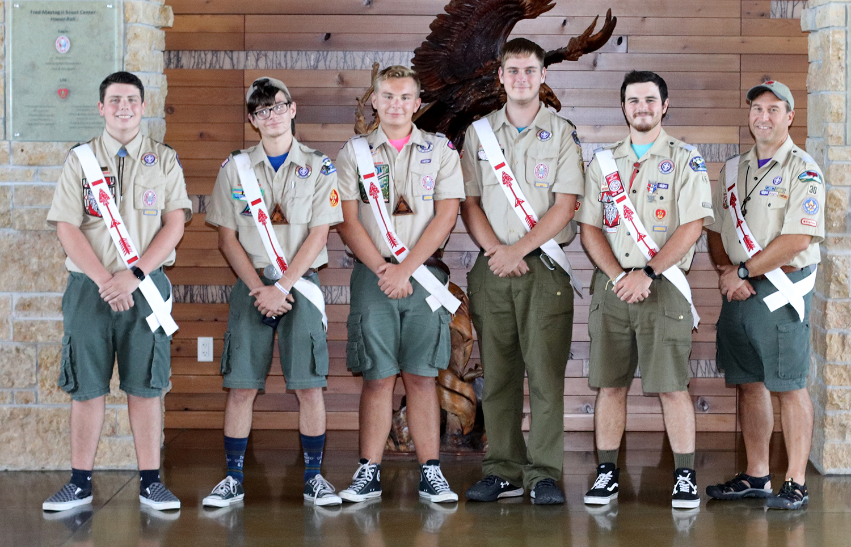 Mitigwa Lodge Officers